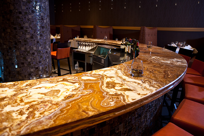 Rare Onyx Slabs : Onyx countertops pros and cons