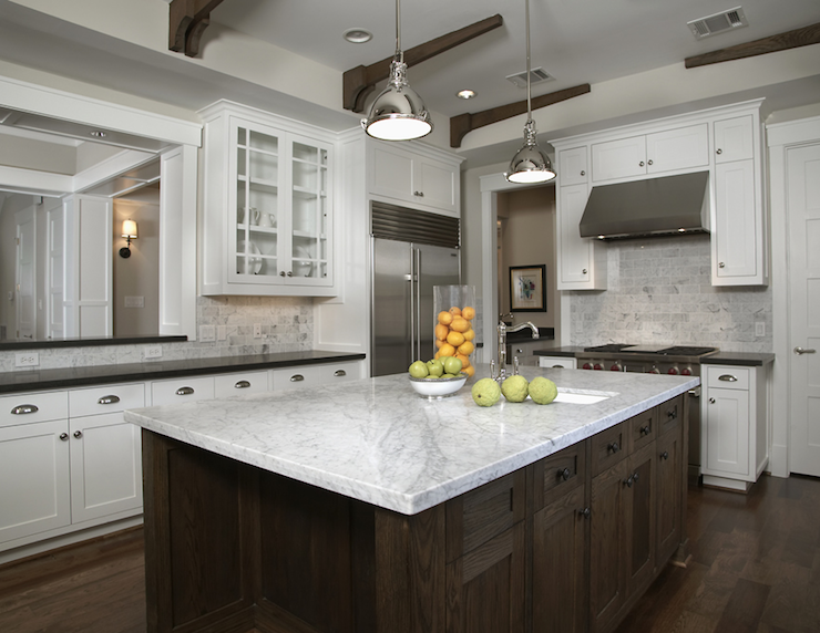 white kitchen cabinets cons marble countertops pros and cons 28720