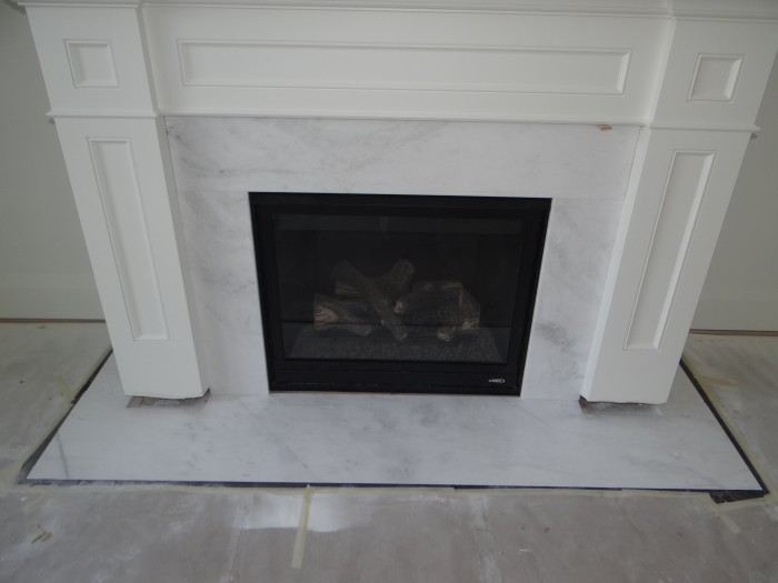 Clean Marble Fireplace Smoke Stains Fireplaces